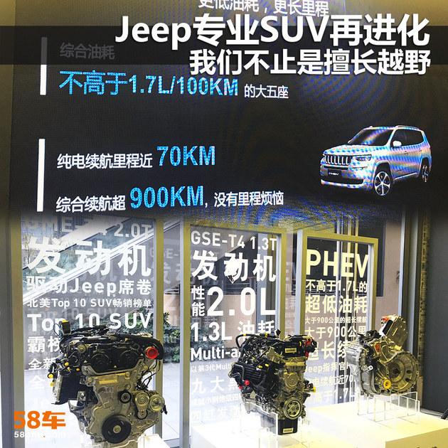 Jeep专业SUV再进化 我们不止是擅长越野