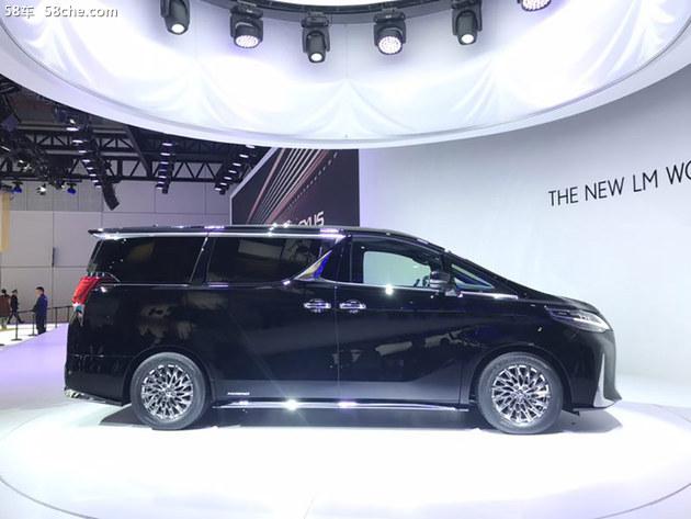 2019上海车展 雷克萨斯LM 300h全球首发