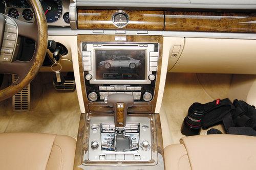 德国工艺的新标杆 试驾2011款大众辉腾