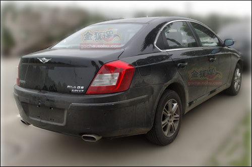 瑞麒G5推新车型 2.0DVVT自动档谍照曝光