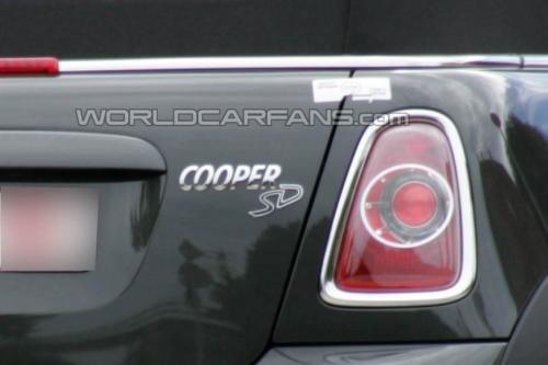 巴黎车展亮相 MINI Cooper柴油版无伪图