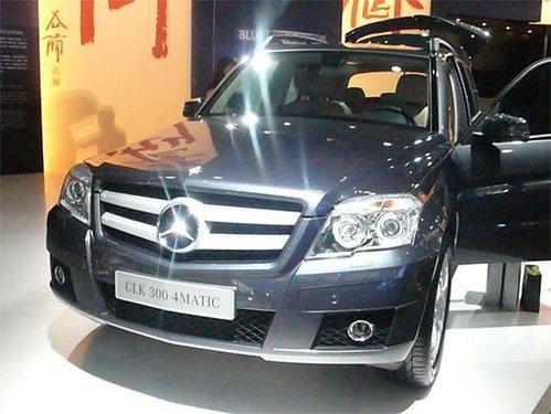 售价44.8万元 奔驰GLK 300动感型上市