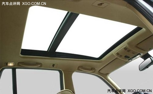 天空零距离 五款全景天窗SUV导购