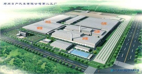 郑州日产汽车有限公司第二工厂高清图片
