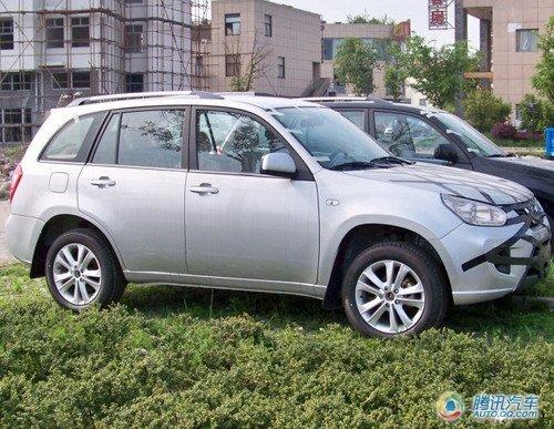 定位于紧凑型SUV 疑似瑞麒X3效果图露面