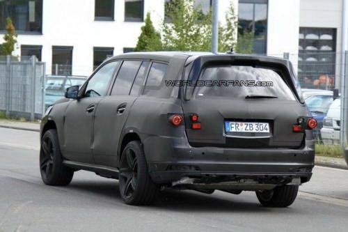 配双增压 奔驰新一代GL63 AMG谍照曝光