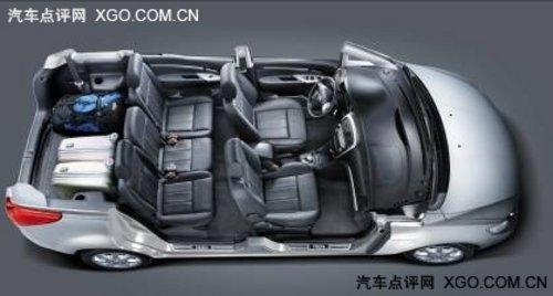 家庭选车新欢 普力马1.6CVT5售价9.98万