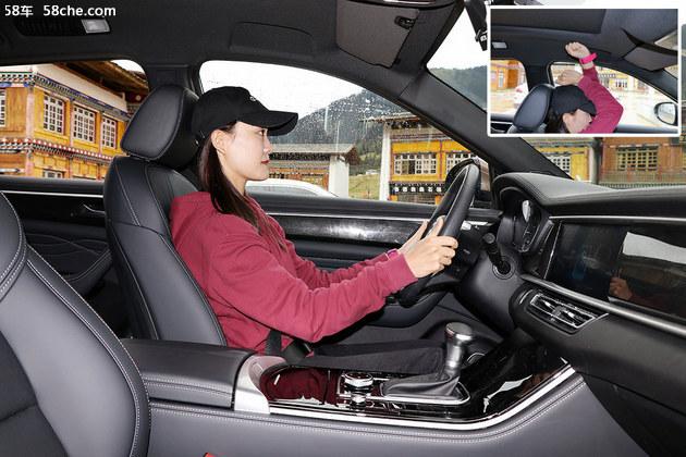 动力平顺、四驱智能 风光ix7试驾体验