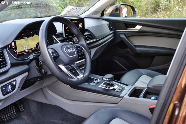 加长不加价的豪华中级SUV 试驾奥迪Q5L