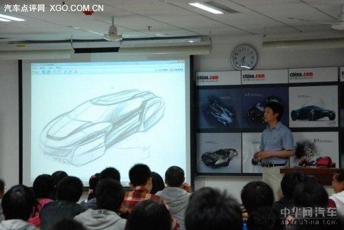 汽车设计大赛 校园宣讲广受学子欢迎