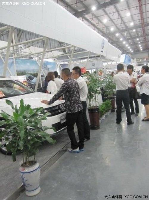 百强巡展余姚站 上海大众经销商售57辆