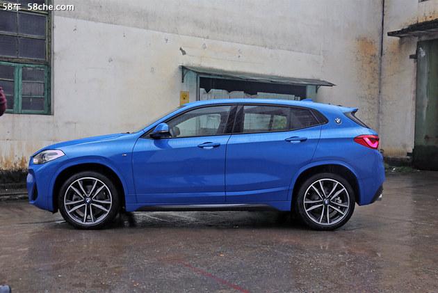价格拉低/款式更多 试驾全新华晨宝马X2