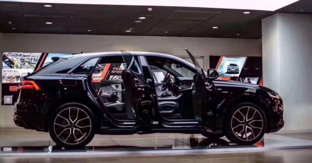 Q8新车抢拍 标配360全景 两天才能等到一个客户