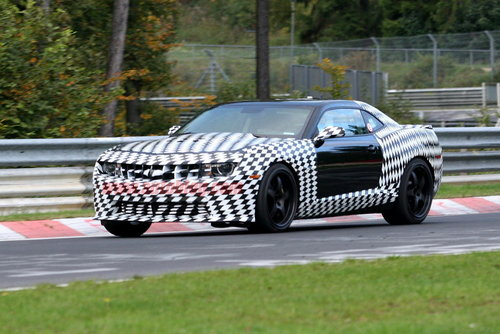 明年推出 雪佛兰Camaro Z28谍照再曝光