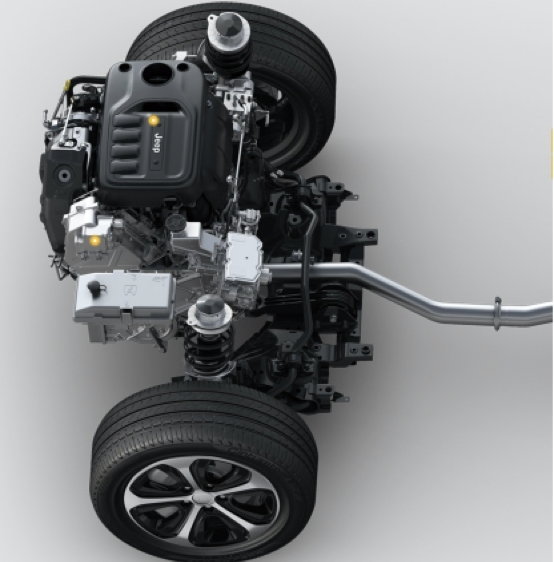 合资中大型首款SUV全新Jeep指挥官PHEV净擎上市