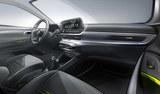 现代i20内饰预告图 将于日内瓦车展首发
