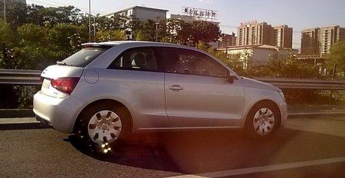 无伪装测试 奥迪A1 1.2T车型国内曝光
