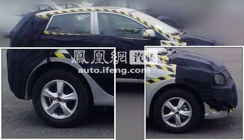广州车展首发 瑞纳两厢版路试谍照曝光