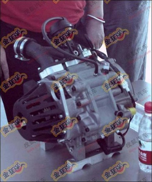 增程技术初步探索 奇瑞将推转子发动机