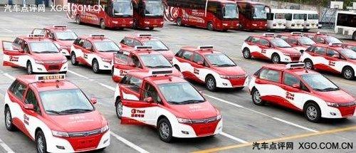 中国再现传奇 纯电动车e6受金手指钦点