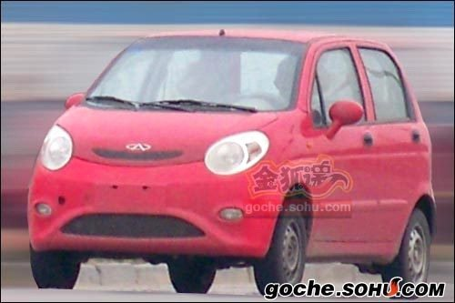 万众瞩目 全新奇瑞QQ3明年上海车展亮相