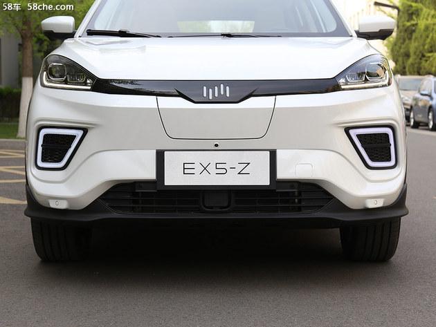 实拍威马EX5-Z 要买智能电动汽车往这看