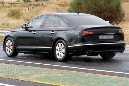 计划明年发布 2012款奥迪A6谍照曝光