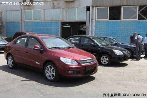 中国制造获认可 奇瑞A3中标开罗出租车