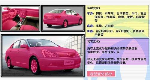 采用轩逸平台 东风S15自主新车详细解析