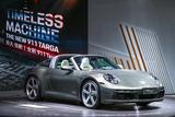 保时捷全新911 Targa首秀 58秒快速读懂它