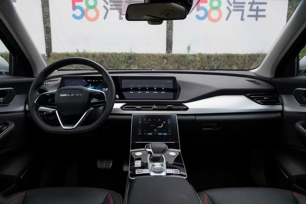 BBA的质感特斯拉的智能 试驾BEIJING-X7