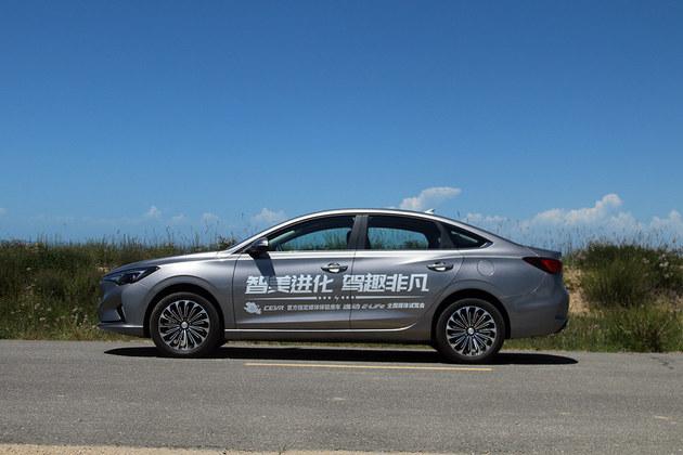 质感比油车强 试驾长安新能源逸动E-Life
