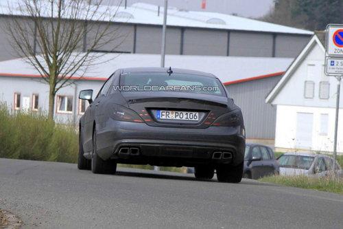 路测接近尾声 新奔驰CLS 63 AMG将发布