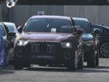 2021年推出 玛莎拉蒂紧凑型SUV谍照曝光