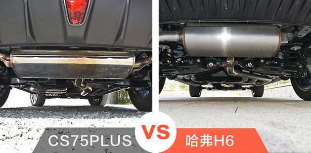 紧凑级SUV之争 长安CS75PLUS VS 哈弗H6