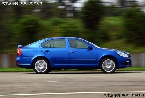 高性能轿车新明锐RS 打造车坛新势力