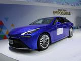 新能源劲敌 氢动力轿跑丰田Mirai概念车