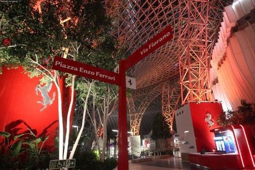法拉利世界阿布扎比主题公园媒体预览