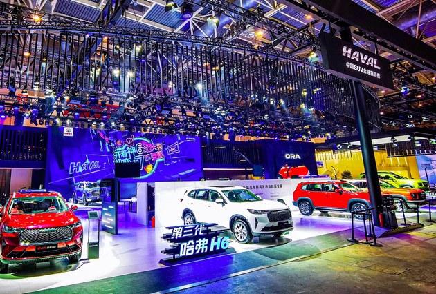 2020北京车展重点车盘点-直播看哈弗展台