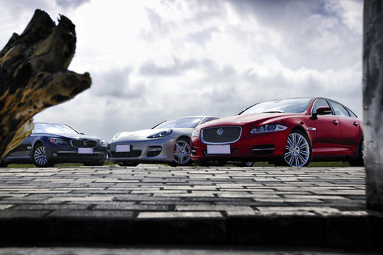 顶级的激情!三款运动豪华轿车大对比