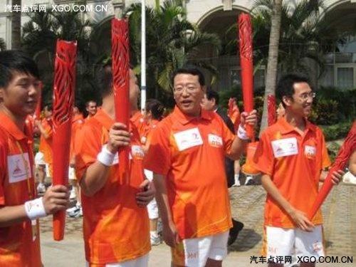 阳江传递 广丰火炬手展示绿色与责任