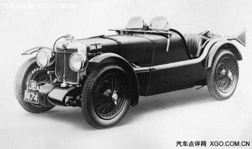 大浪淘沙 历史上MG汽车的英豪世纪史