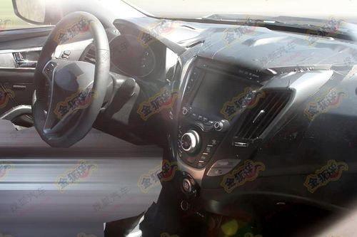 全新Coupe车型 现代Veloster国内谍照