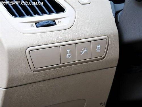 纵横四海ix35电控适时四驱系统使用感受