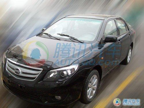 针对低端市场 比亚迪L3推出手动挡车型