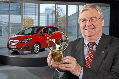 欧宝Meriva捧得 2010年度金方向盘奖