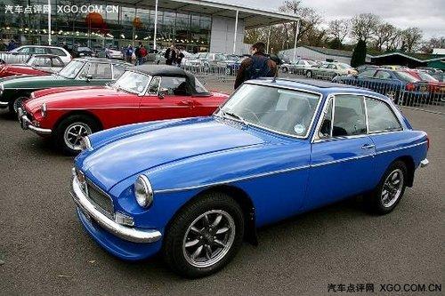 围观看看上海汽车MG在英国的 国际车展