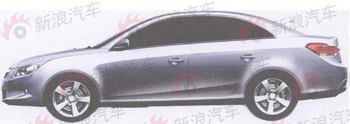 车身结构酷似睿翼 长安中级轿车Z2曝光