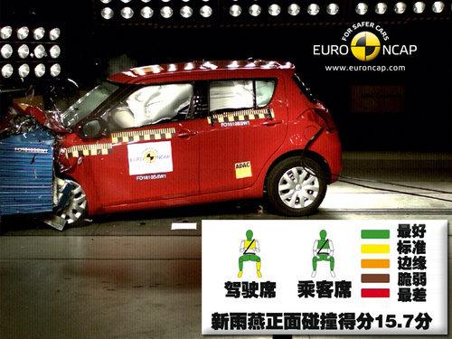 新雨燕明年将国产 NCAP碰撞测试被曝光