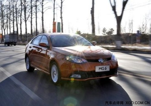 上海汽车MG6新基准轿车 我的低碳生活
